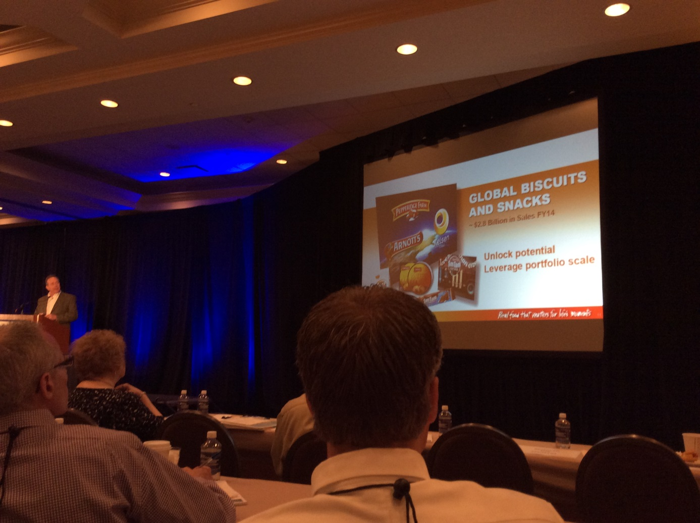 Dave Watson VP Campbells at Food Automation & Manufacturing Conference & Expo